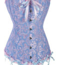 Blue-Overbust-Pattern-Corset-LC5085-4-8909