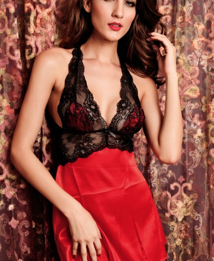 2PC-Seduce-Slip-Satin-Sleepwear-Red-LC2637-3-2
