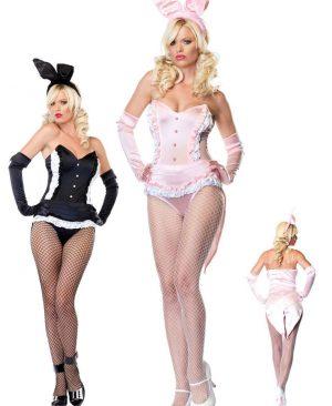 Uniforma Sexy Bunny Pink