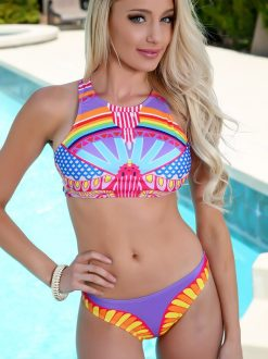 Costum de baie cu model Aztec Takini