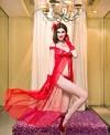Rochita Lunga Diana Red