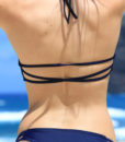 Dres de baie reversibil cu imprimeu pe bikini Michelle (2)