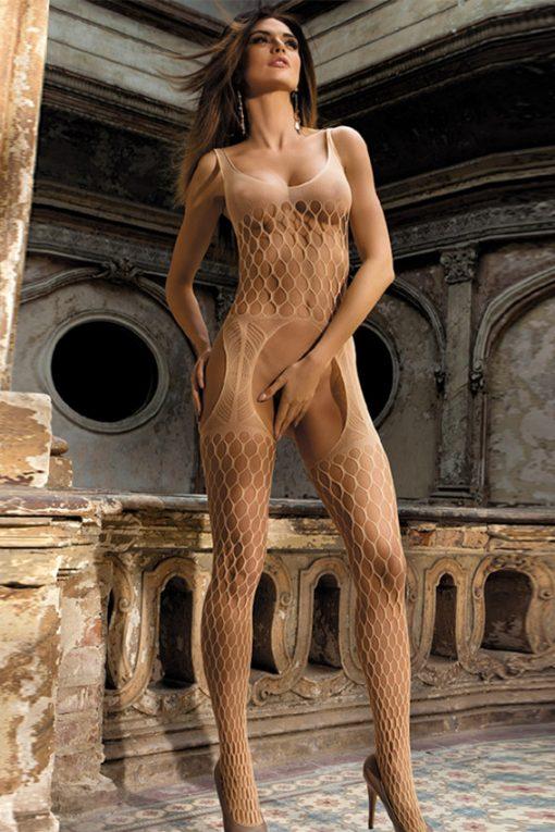 BodyStocking plasa bej Sofia