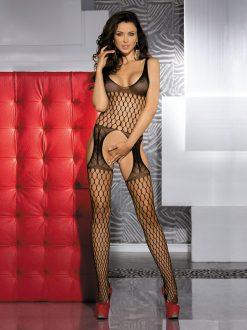 BodyStocking plasa negru Sofia
