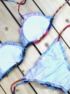 Costum de baie cu imprimeu Exotic