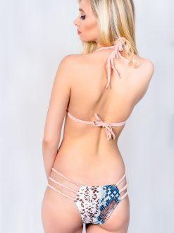 Costum de baie cu imprimeu sarpe Bora
