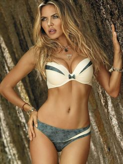 Costum de baie cu push-up Milano Ivory