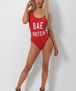 Costum de baie intreg Bae Watch