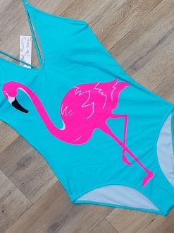 Costum de baie intreg Flamingo