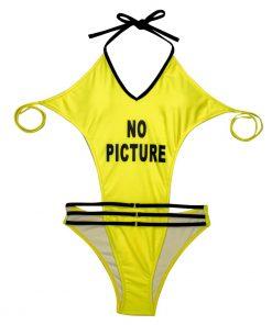 Costum de baie intreg Saint Tropez Galben