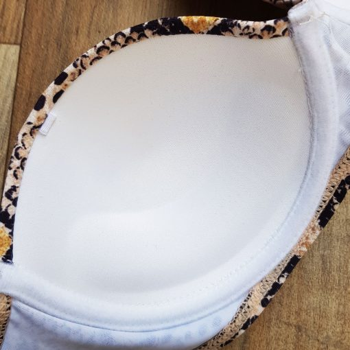 Costum de baie cu imprimeu sarpe si push-up Egypt