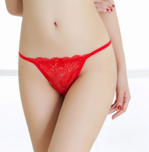 Set 4 culori bikinii tanga Dantela Lara