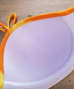 Costum de baie cu imprimeu si slip clasic Palmeras