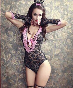 Uniforma sexy de iepuras Gabriela