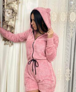 Salopeta pijama pufoasa Carola Roz