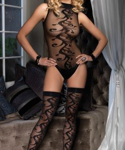 Set BodyStocking Body & Ciorapi Anabella