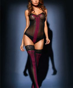 Set BodyStocking Body & Ciorapi Isaura