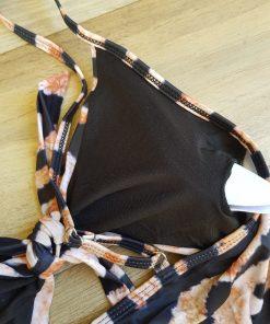 Costum de baie intreg cu imprimeu animal print Tigru