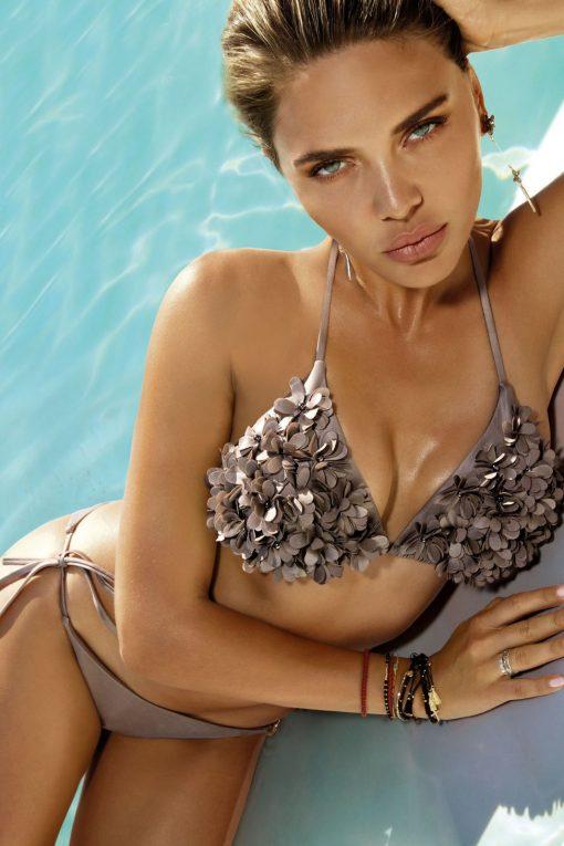 Costum de baie cu slip brazilian si push up Madonna Maro